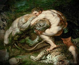 Ejemplo de Trabajo de Hércules: León de Nemea