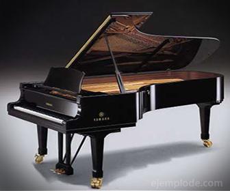 El piano es el instrumento de cadena de percusión por excelencia.